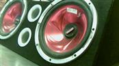 "TRIPLE XXX 12"" CAR SPEAKERS,CABINET"